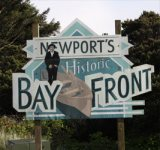 newport oregon sign