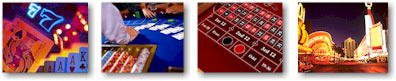 gambling casino collage