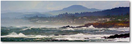 oregon coast seascape
