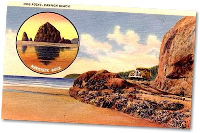 cannon beach postcard