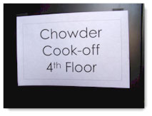 clam chowder cook off