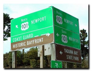 signs to newport