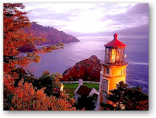 oregon coast lighthouses