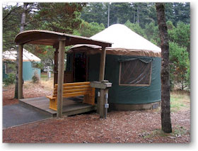 yurt oregon coast