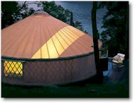 oregon coast yurt